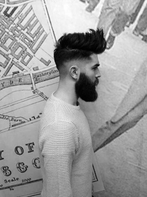 Coafuri cu barbă lungă până la medie pentru barbă