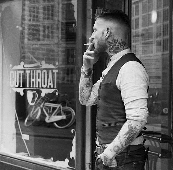 Păr pentru bărbați cu lungime scurtă