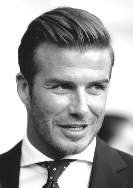 Idei de par David Beckham pentru barbati